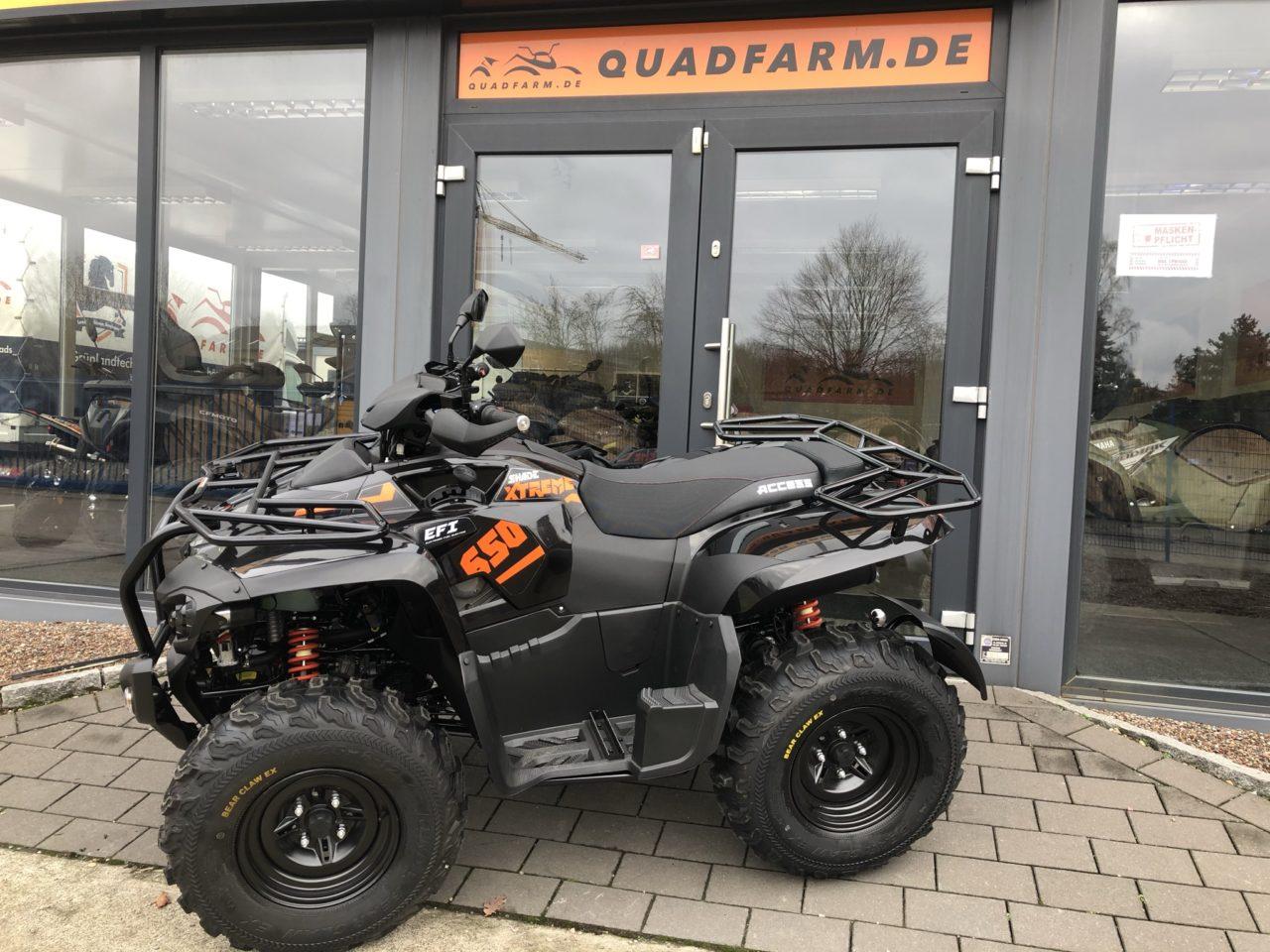 ATV / Quad Access Shade Xtreme 650 NG, Winteredition, LOF