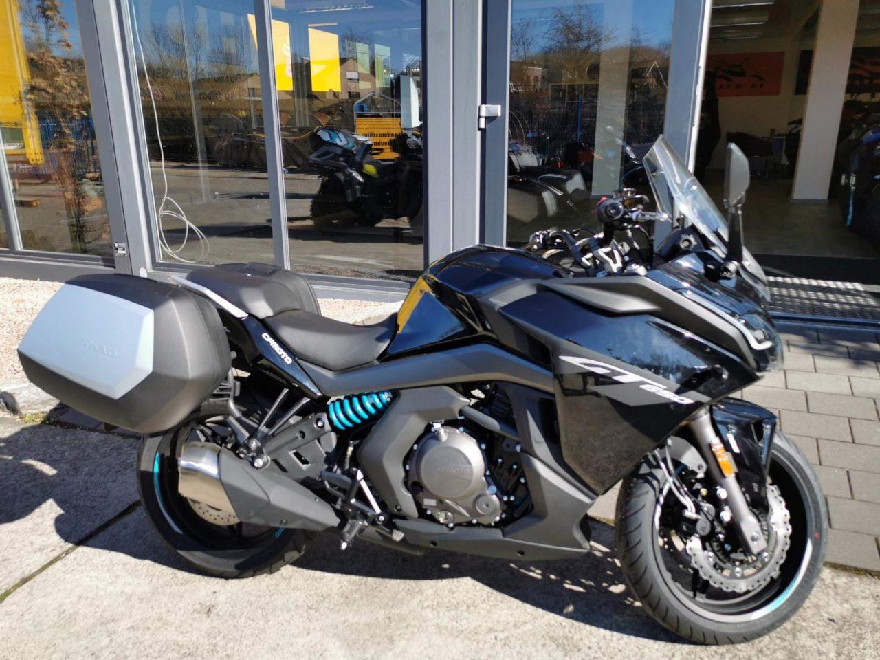Motorrad, Touring CF Moto 650 GT, ABS, Kofferset, Modell 2021