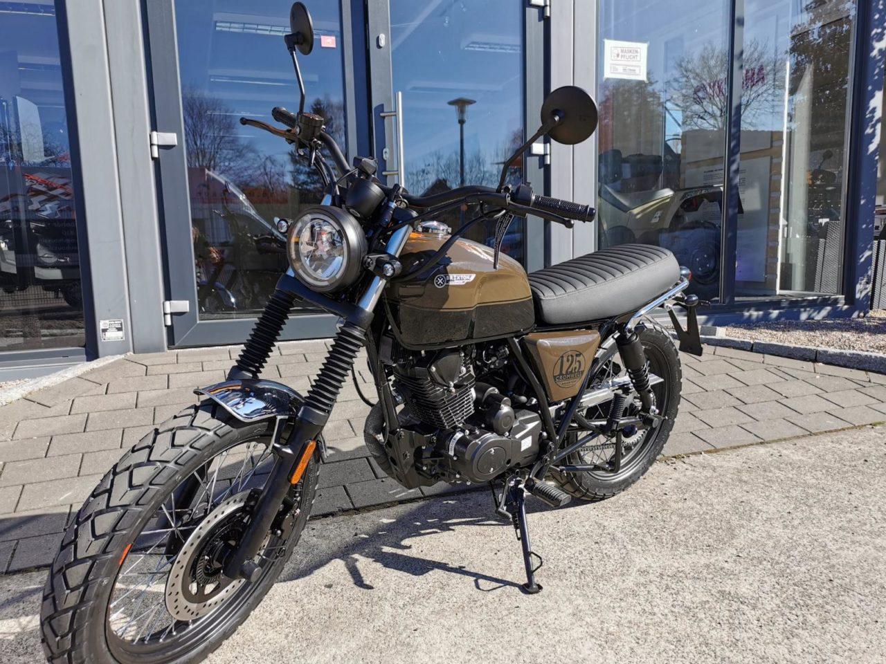 Motorrad Brixton Cromwell 125 Modell 2021, ABS, Euro 5
