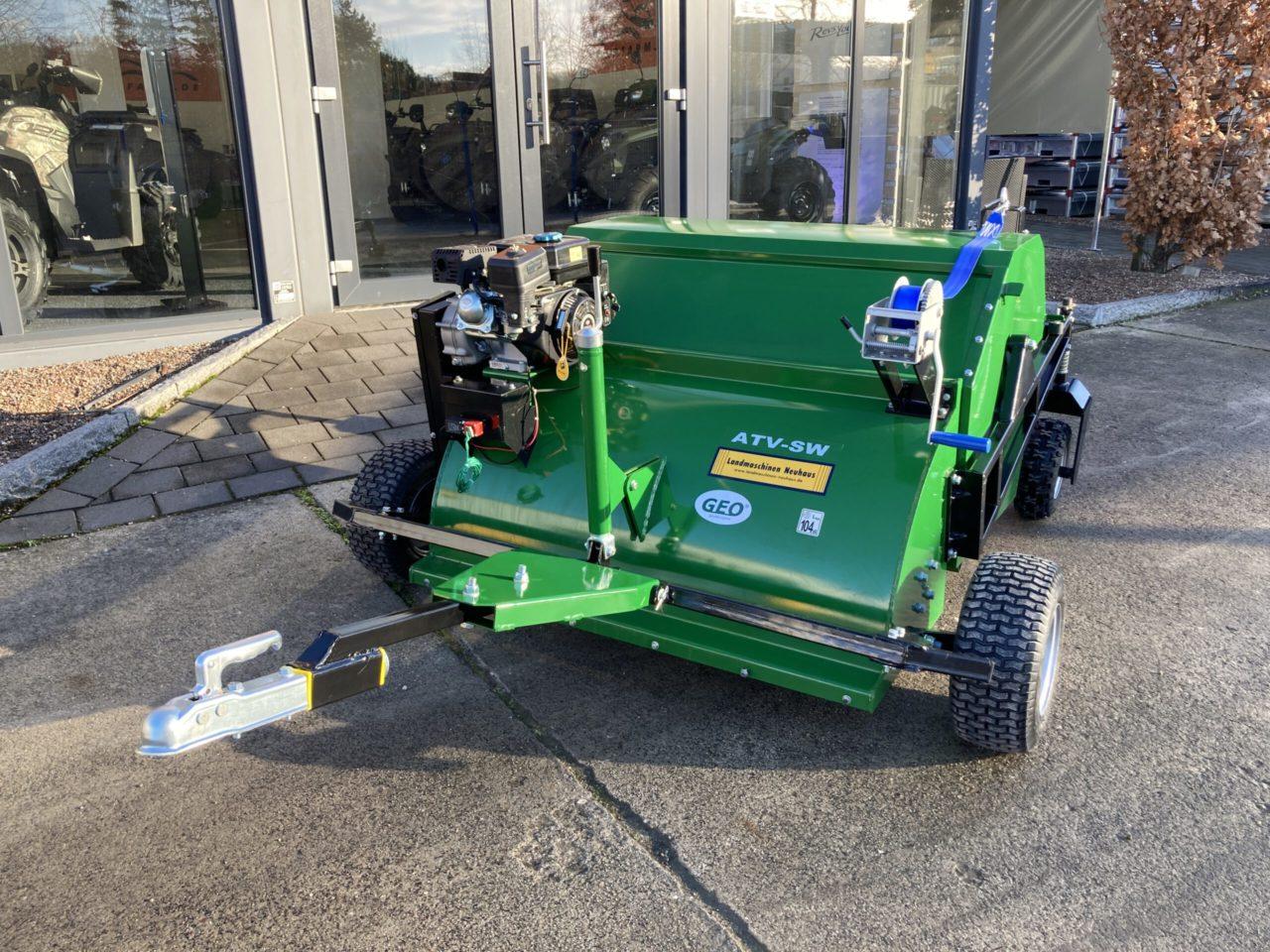 GEO ATV SW Paddock cleaner, Kehrmaschine, Kehrbürste