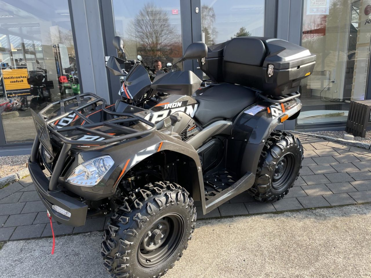 ATV / Quad GOES Iron, Allrad 27 PS, 400 ccm, Heckkoffer