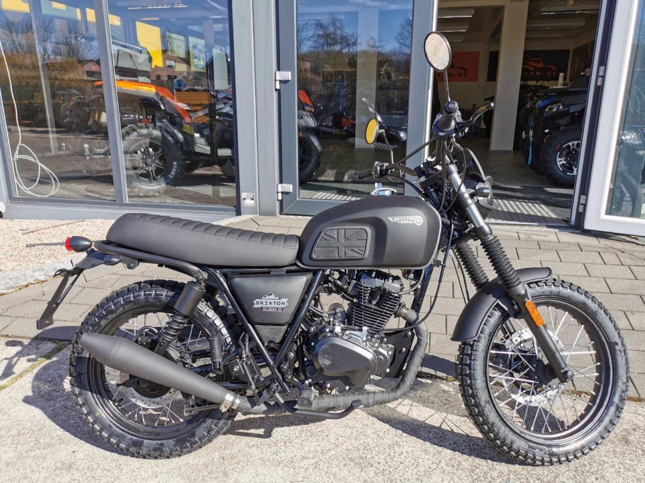 Motorrad Brixton Felsberg 125 Modell 2021, ABS u. Euro 5