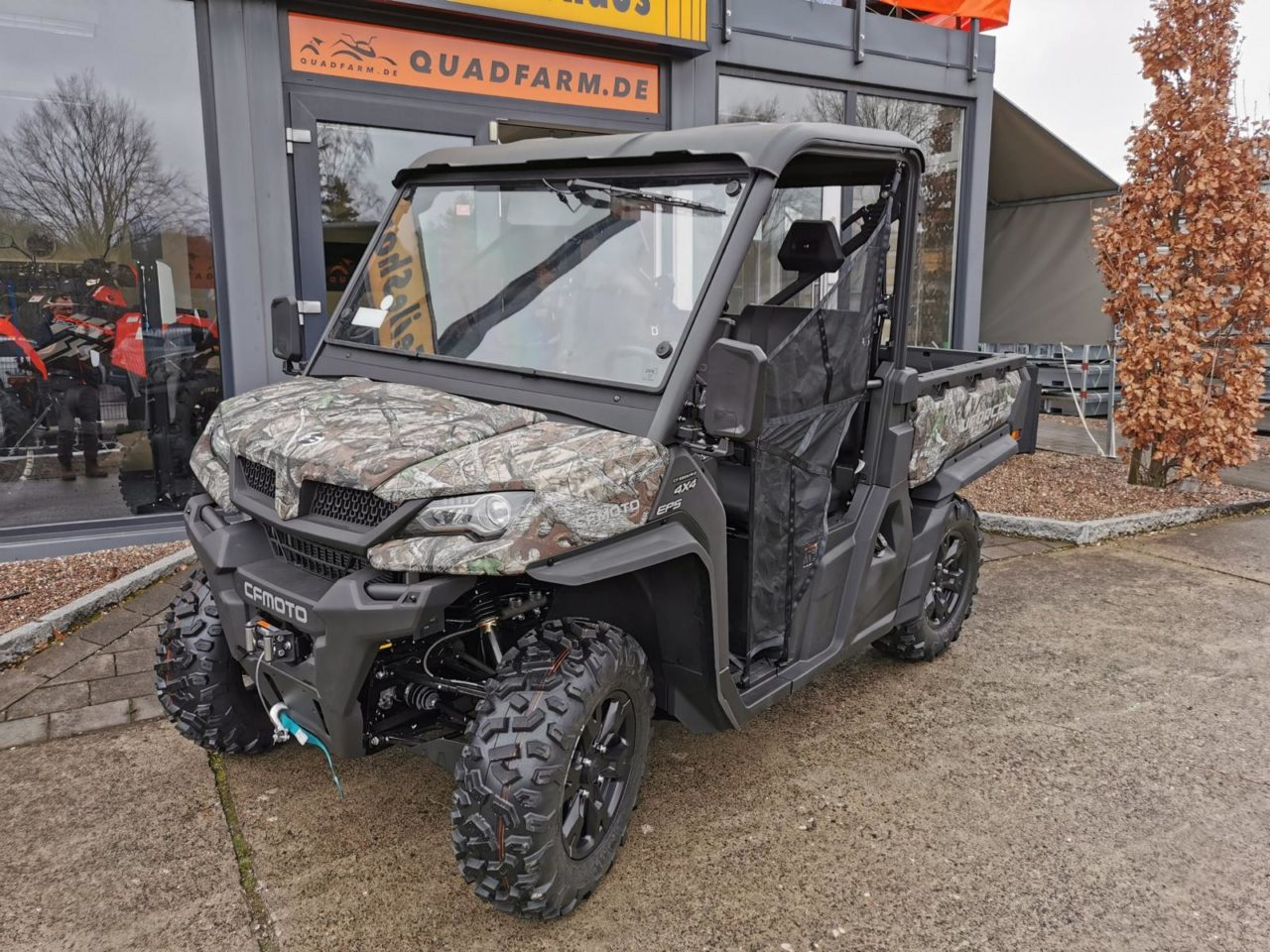 UTV / Side by Side CFMOTO UForce 1000 V2 EFI 4×4, 79 PS, 963 ccm, Scheibe, LOF