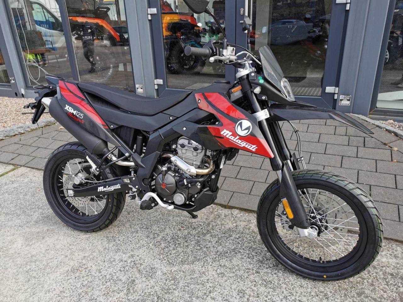 Motorrad, Supermoto, Crossmaschine Malaguti XSM 125