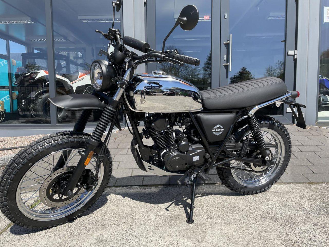 Motorrad Brixton Felsberg 125 XC CBS Modell 2021