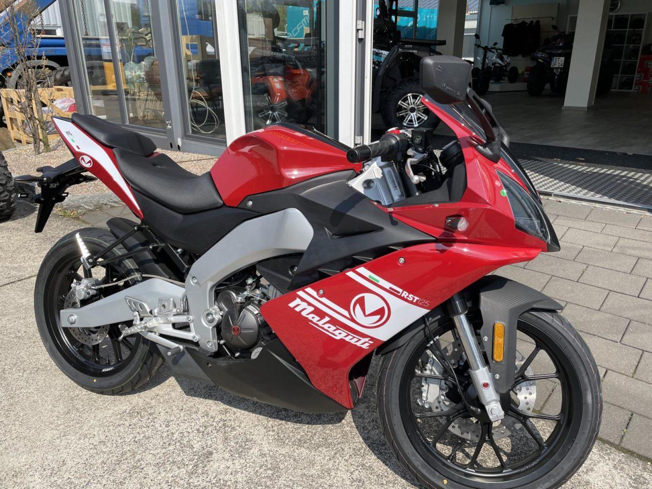 Motorrad Malaguti RST 125, volle Leistung , CBS, Supersportler !