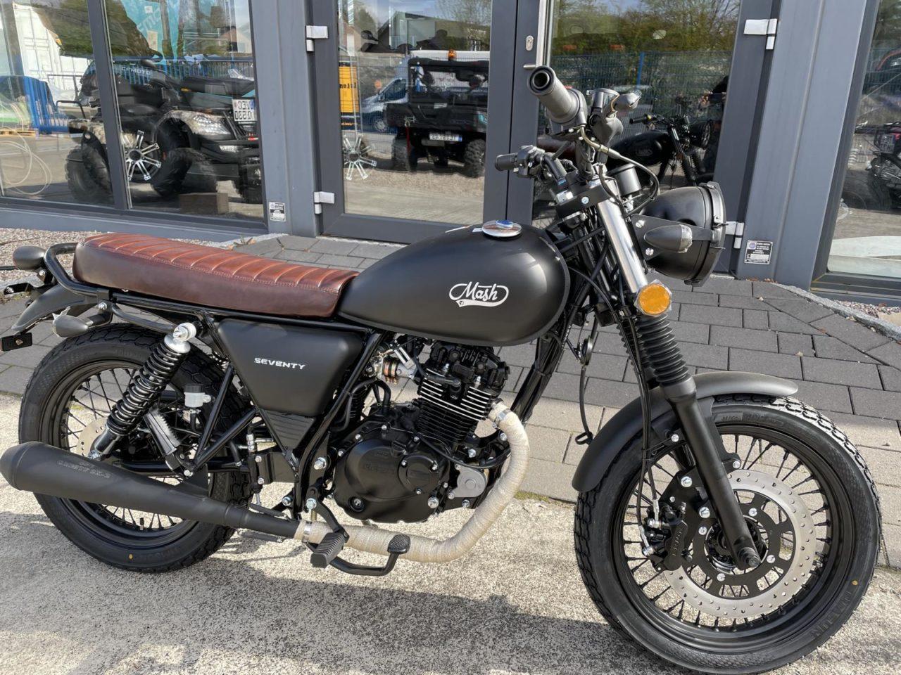 Motorrad, Moped, Mash 125 ccm Modell Seventy, Euro 5