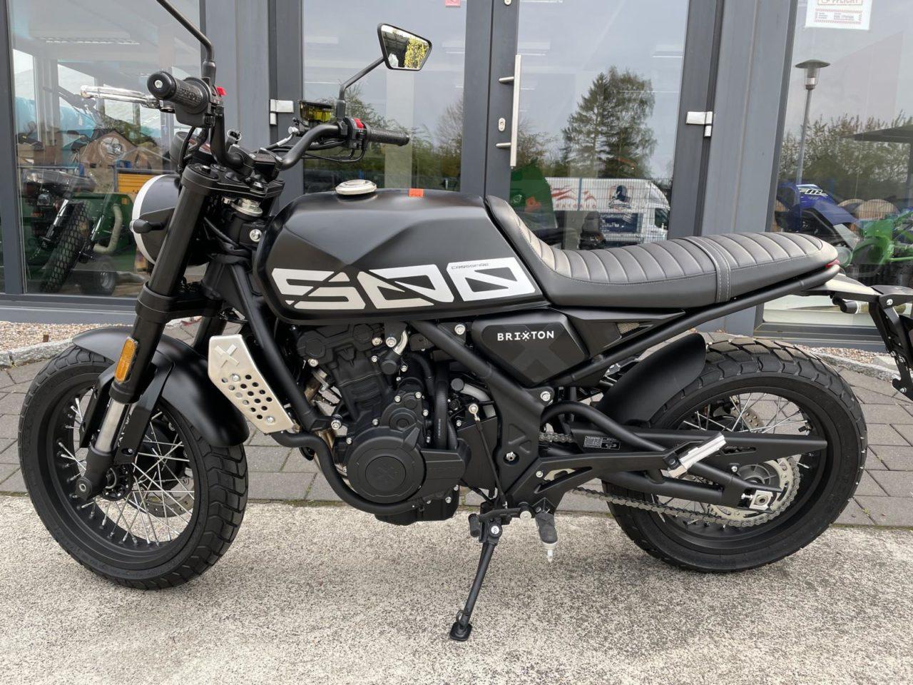 Motorrad Brixton Crossfire 500 X, Modell 2021, ABS u. Euro 5