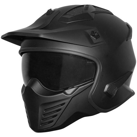 Germot Helm GM 44 matt-schwarz