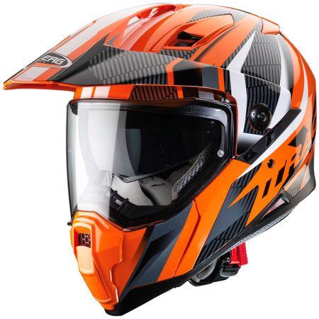 Caberg Helm Xtrace Savana orange/schwarz