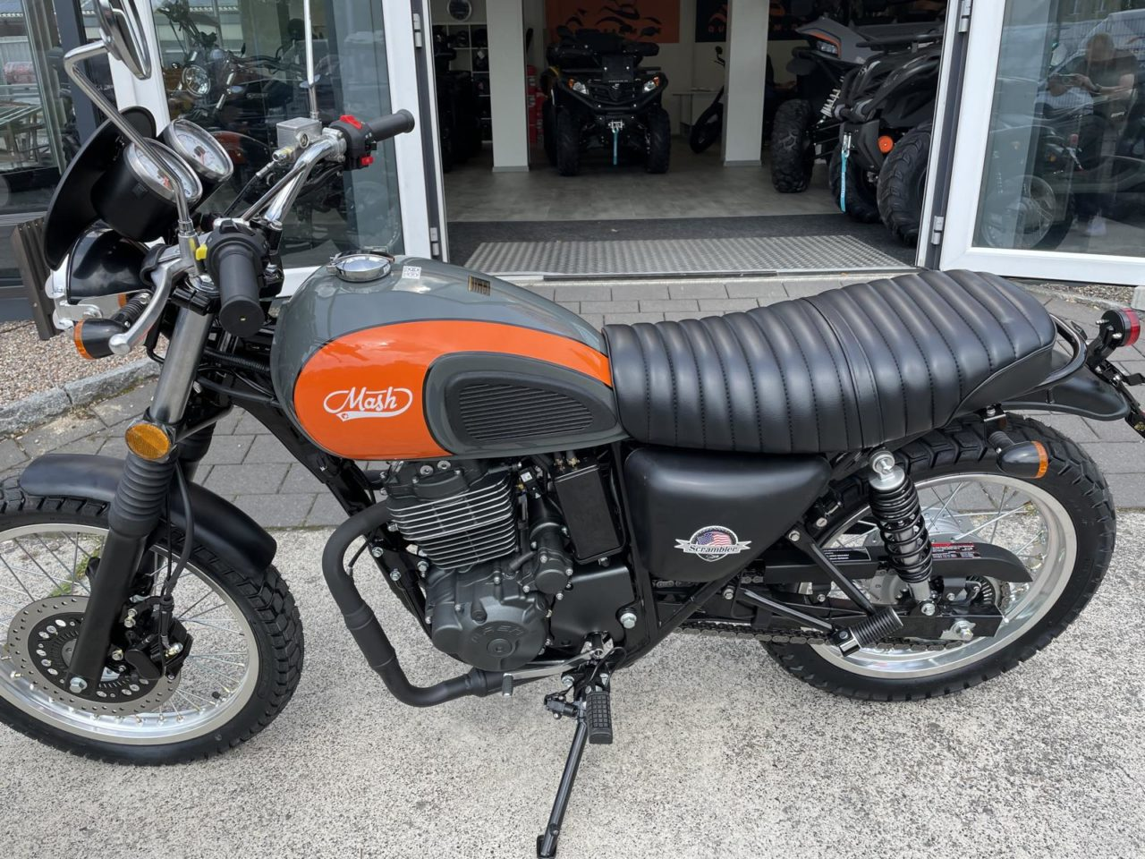 Motorrad Mash Scrambler 400 ccm ABS, Euro 4