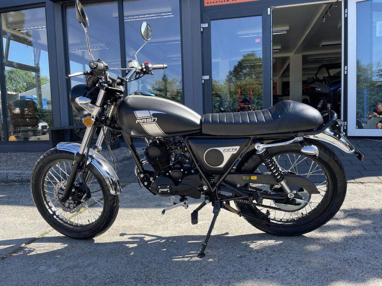 Motorrad, Moped, Mofa Mash 50 ccm Modell 50cc Fifty black