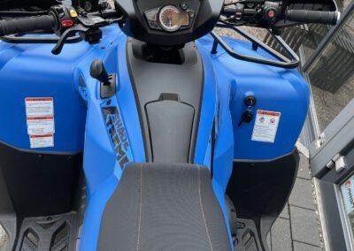 Quad Allrad Blau