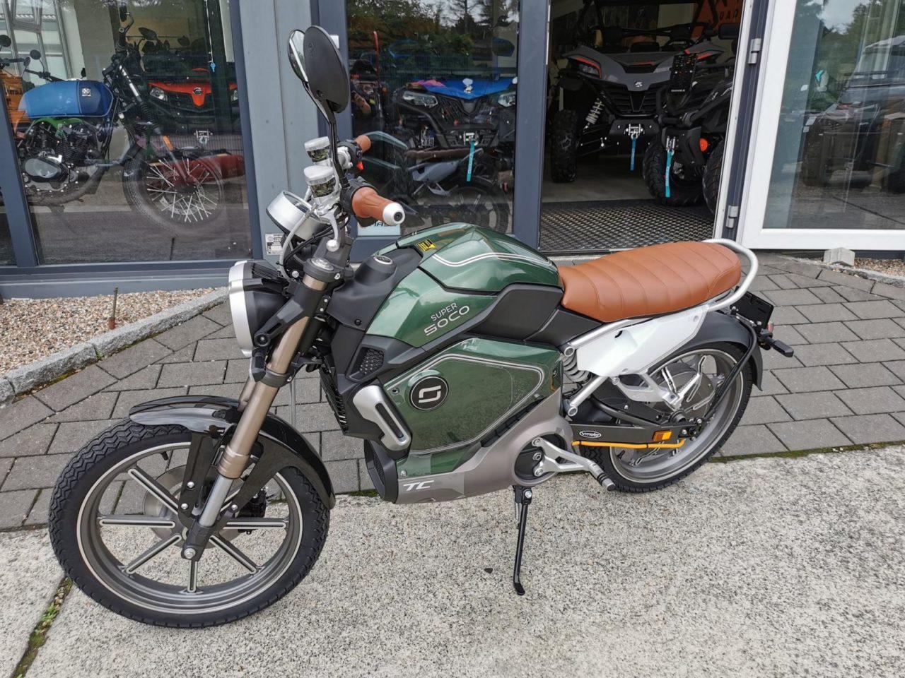 Elektromotorrad, Motorrad, Elektromoped SUPERSOCO TC 45
