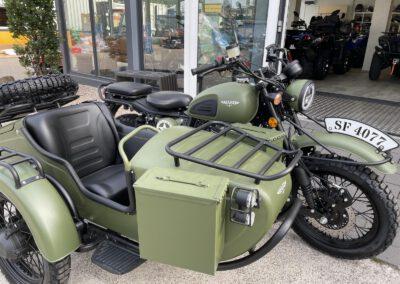 Mash Motorrad Beiwagen